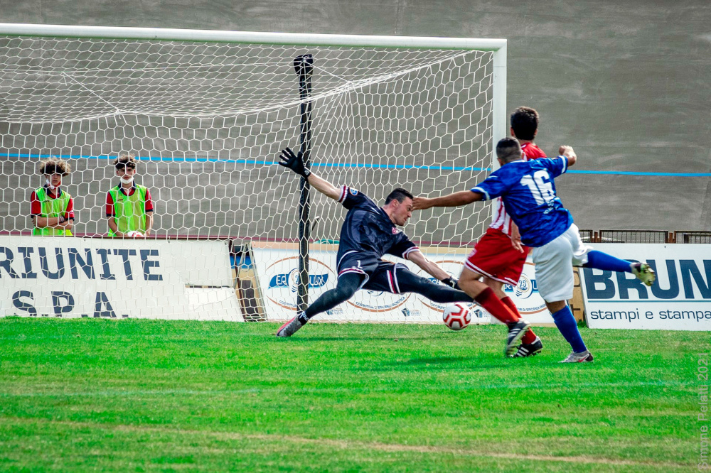 Foto di Dactyan David Mezzolara Calcio - Gara Forlì Mezzolara 5 Giugno 2021