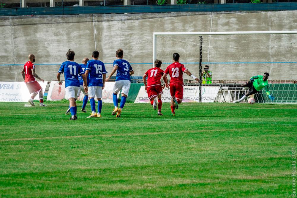Foto di Wangue Moumi Yvan Mezzolara Calcio - Gara Forlì Mezzolara 5 Giugno 2021