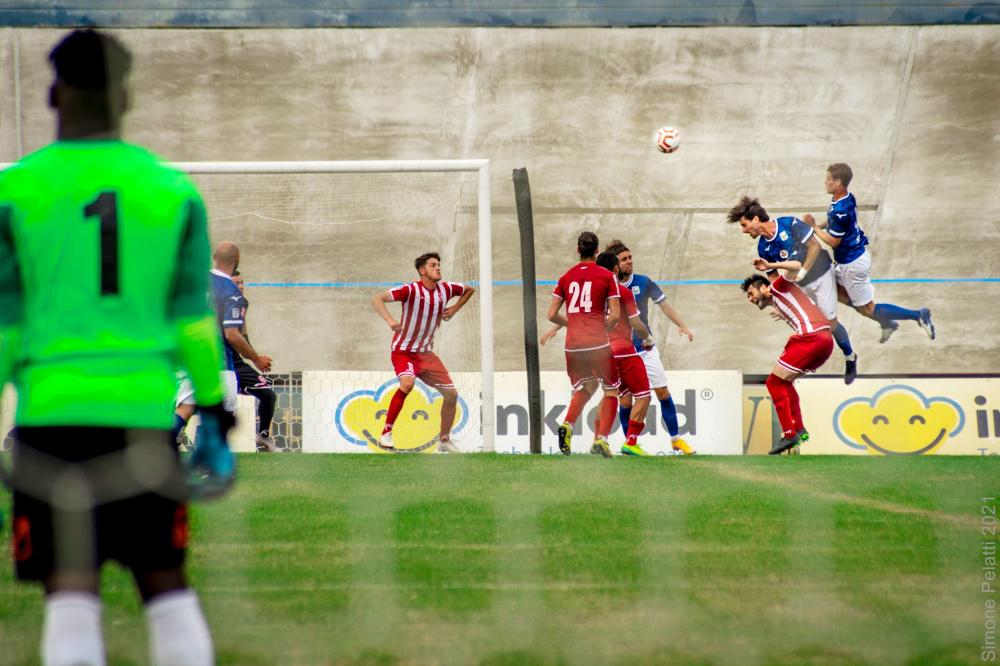 Foto azione Mezzolara Calcio - Gara Forlì Mezzolara 5 Giugno 2021