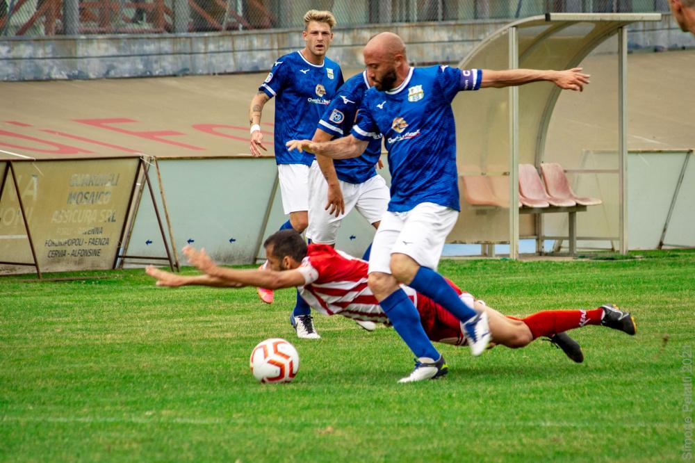 Foto di Roselli Fabio Mezzolara Calcio - Gara Forlì Mezzolara 5 Giugno 2021