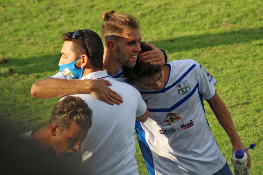 Mirko Lazzari, Dall'Osso Lorenzo e Bovo Alessio Mezzolara calcio