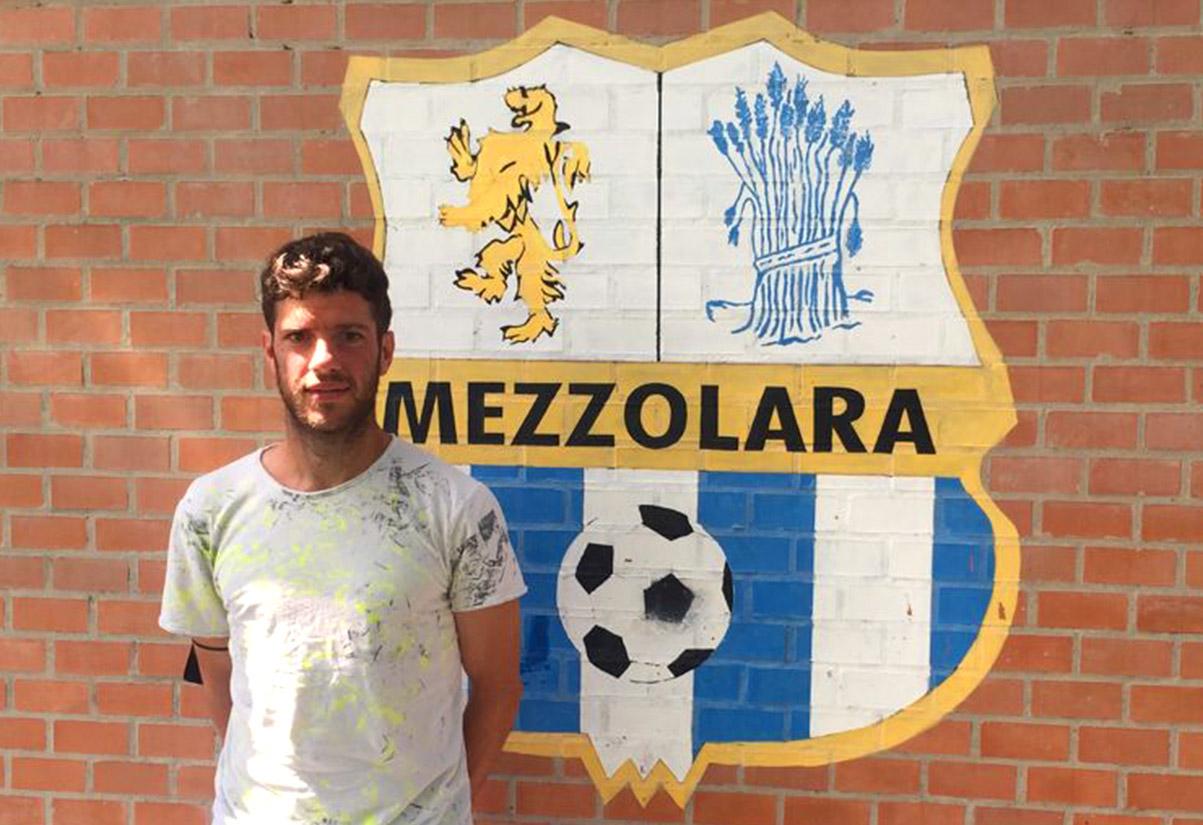 Landi Andrea centrocampista Mezzolara Calcio