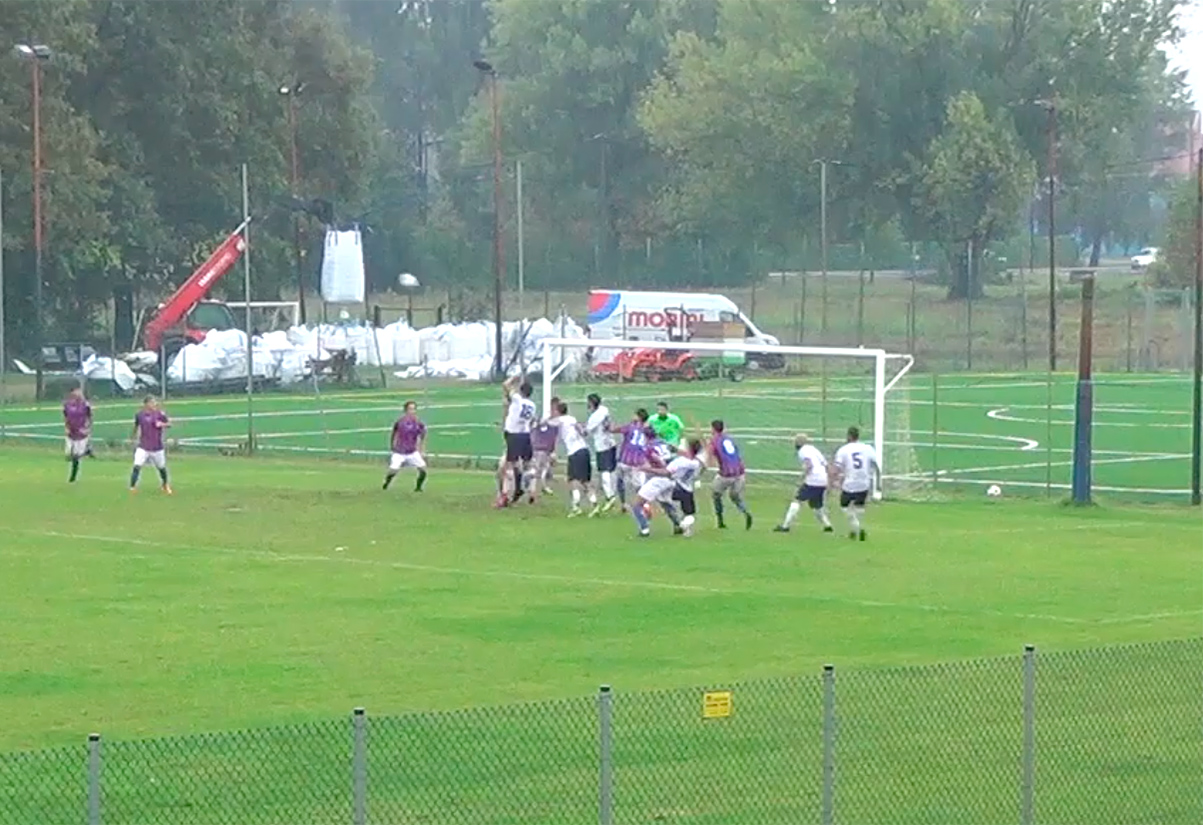 progresso mezzolara 0 1 gol Rossi